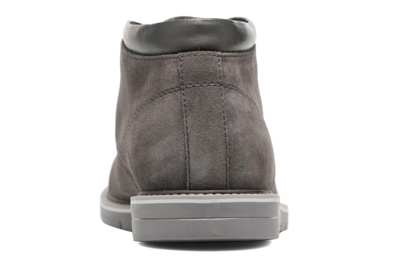Chaussures à lacets Geox U Uvet B U742QB Gris vue droite