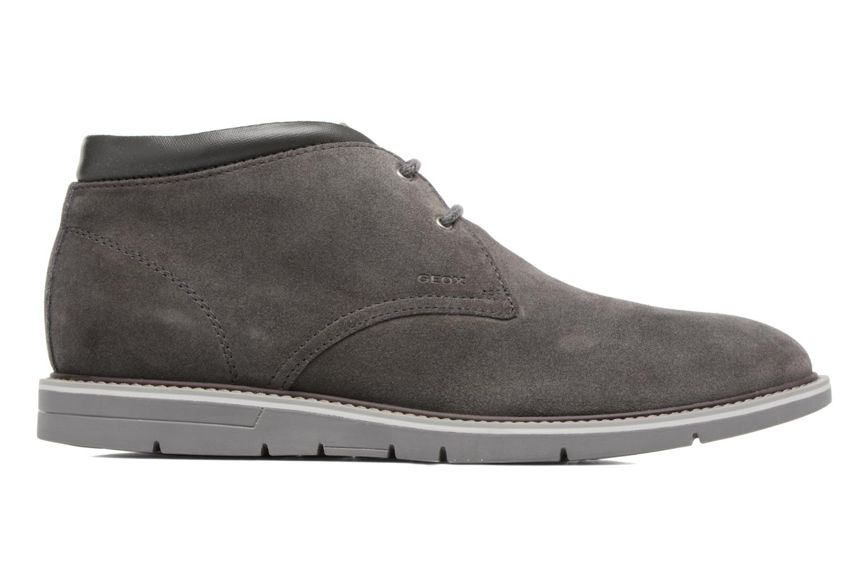 Chaussures à lacets Geox U Uvet B U742QB Gris vue derrière