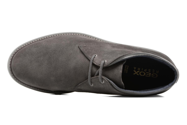 Chaussures à lacets Geox U Uvet B U742QB Gris vue gauche