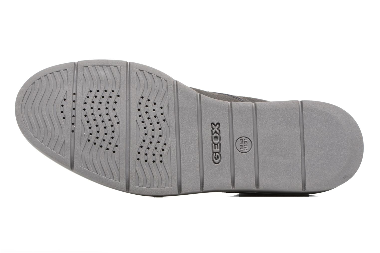 Chaussures à lacets Geox U Uvet B U742QB Gris vue haut