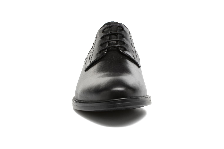 Chaussures à lacets Geox U Loris Np Abx C U742XC Noir vue portées chaussures