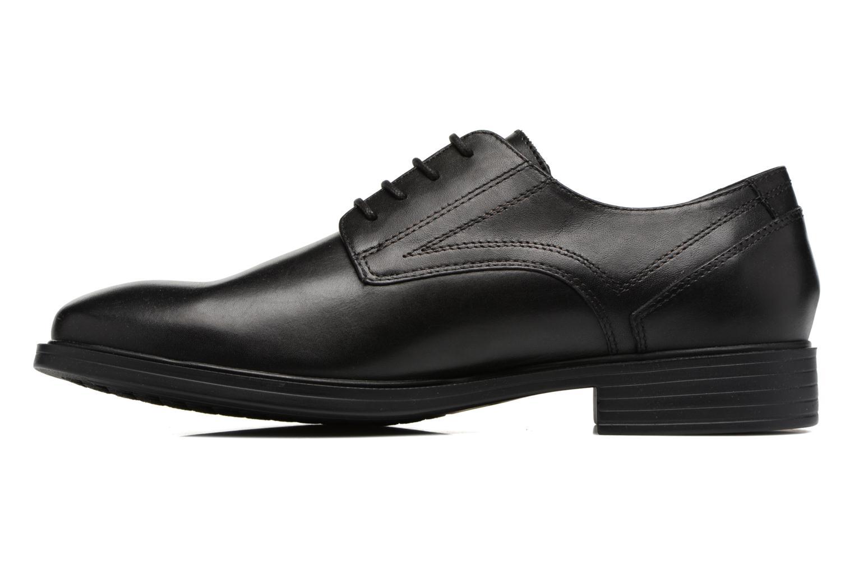 Chaussures à lacets Geox U Loris Np Abx C U742XC Noir vue face