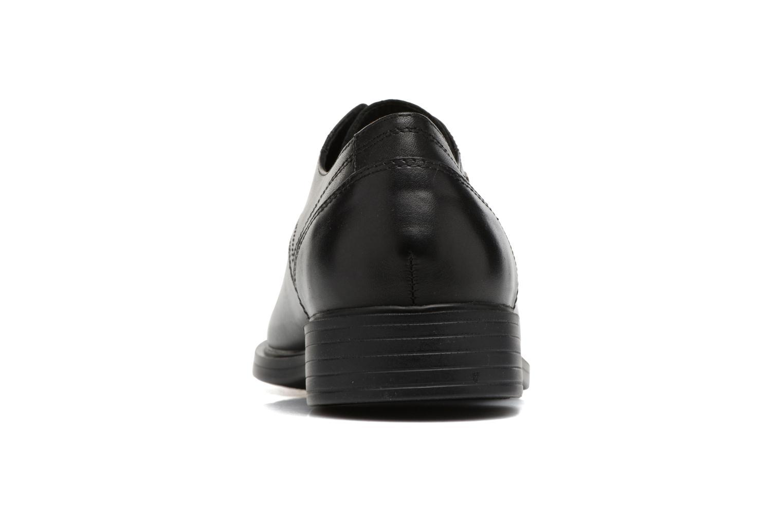 Chaussures à lacets Geox U Loris Np Abx C U742XC Noir vue droite