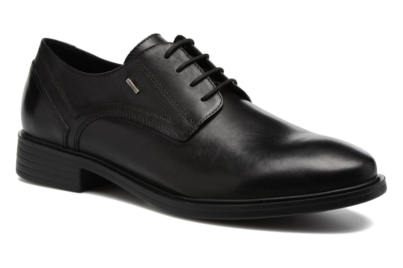 Chaussures à lacets Geox U Loris Np Abx C U742XC Noir vue détail/paire
