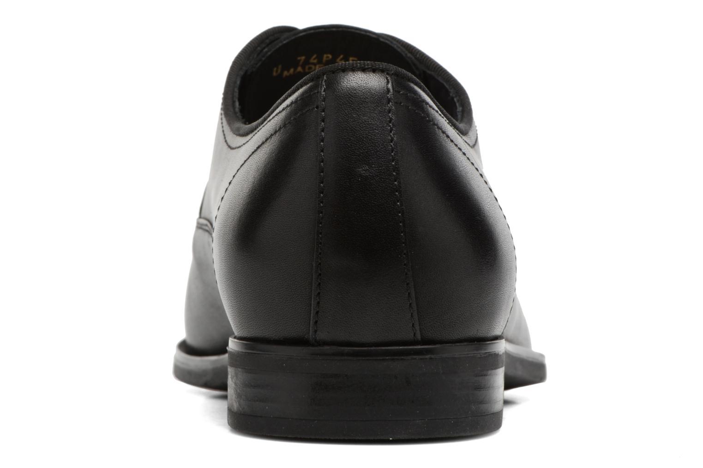 Chaussures à lacets Geox U New Life E U74P4E Noir vue droite