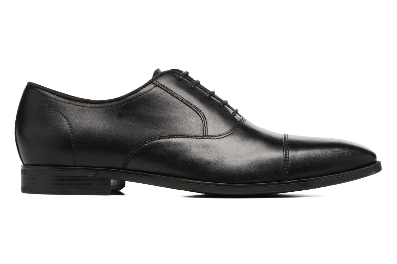Chaussures à lacets Geox U New Life E U74P4E Noir vue derrière