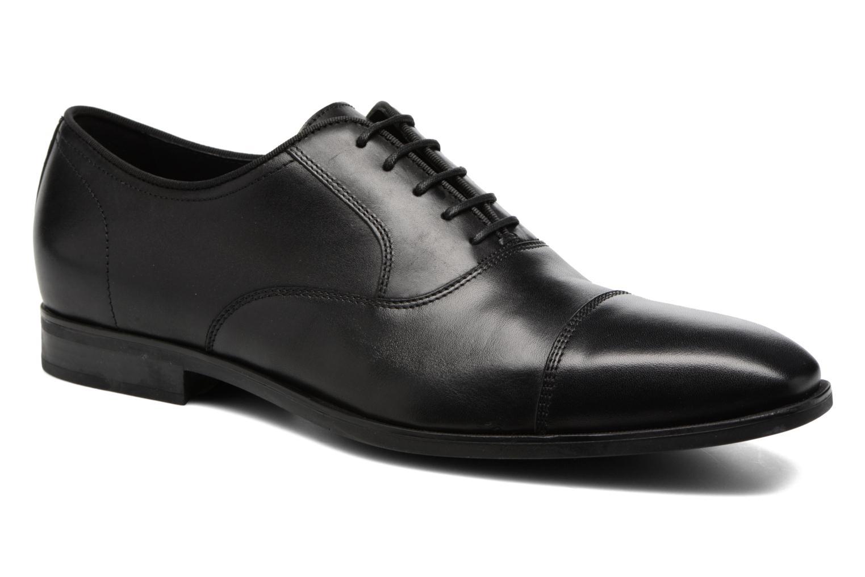 Chaussures à lacets Geox U New Life E U74P4E Noir vue détail/paire