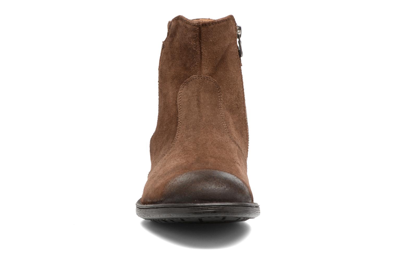 Bottines et boots Geox U Jaylon A U74Y7A Marron vue portées chaussures