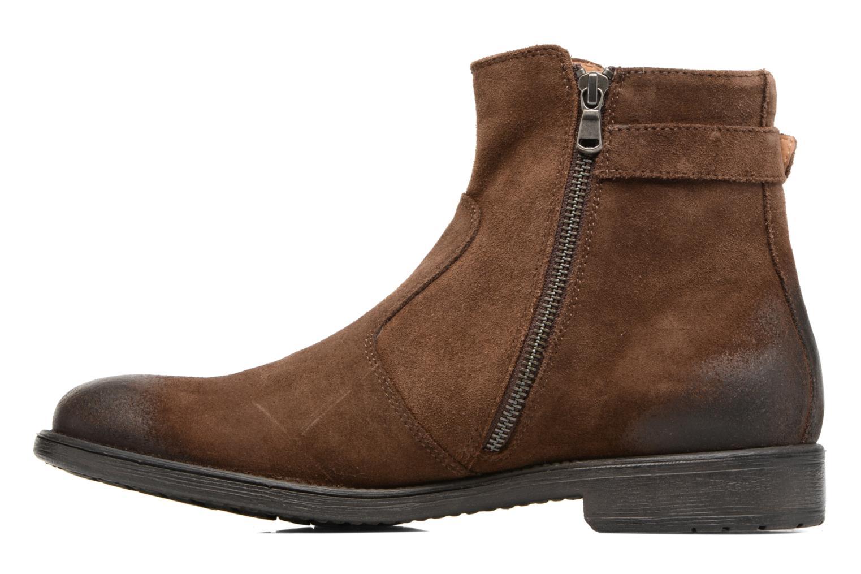 Bottines et boots Geox U Jaylon A U74Y7A Marron vue face