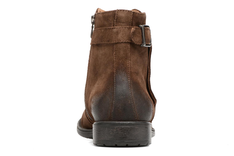 Bottines et boots Geox U Jaylon A U74Y7A Marron vue droite