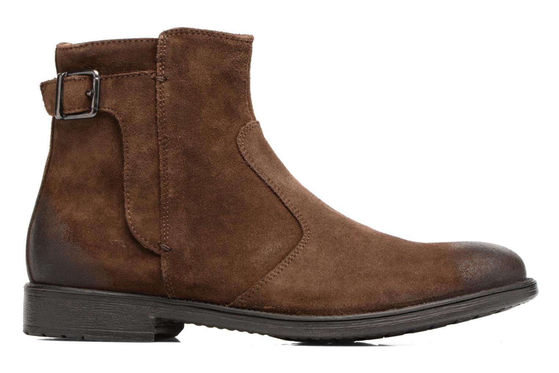 Bottines et boots Geox U Jaylon A U74Y7A Marron vue derrière