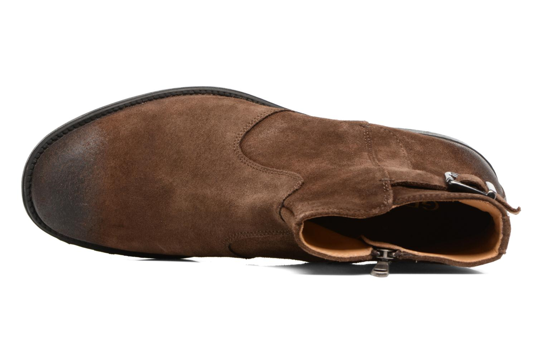 Bottines et boots Geox U Jaylon A U74Y7A Marron vue gauche