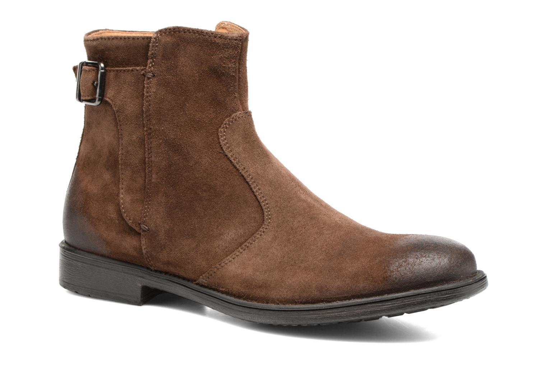 Bottines et boots Geox U Jaylon A U74Y7A Marron vue détail/paire