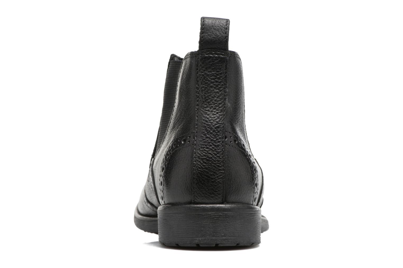 Bottines et boots Geox U Jaylon B U74Y7B Noir vue droite