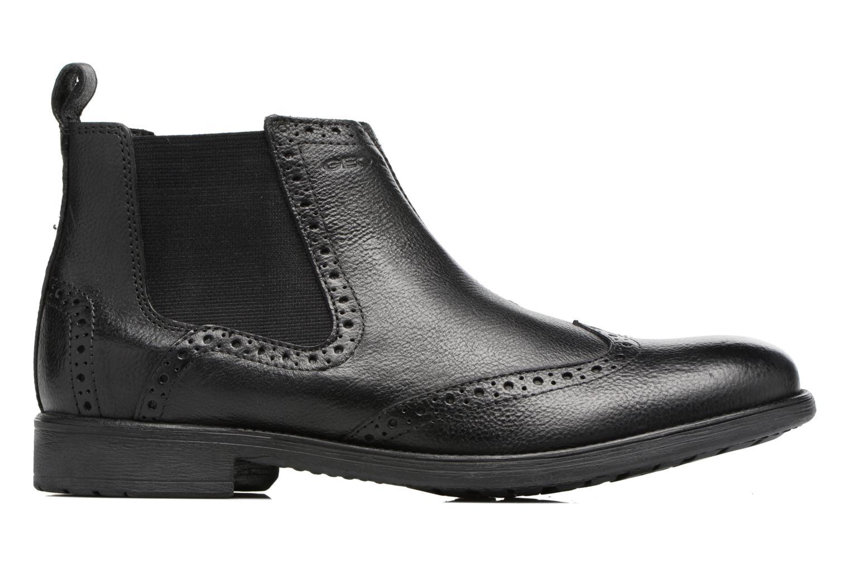 Bottines et boots Geox U Jaylon B U74Y7B Noir vue derrière