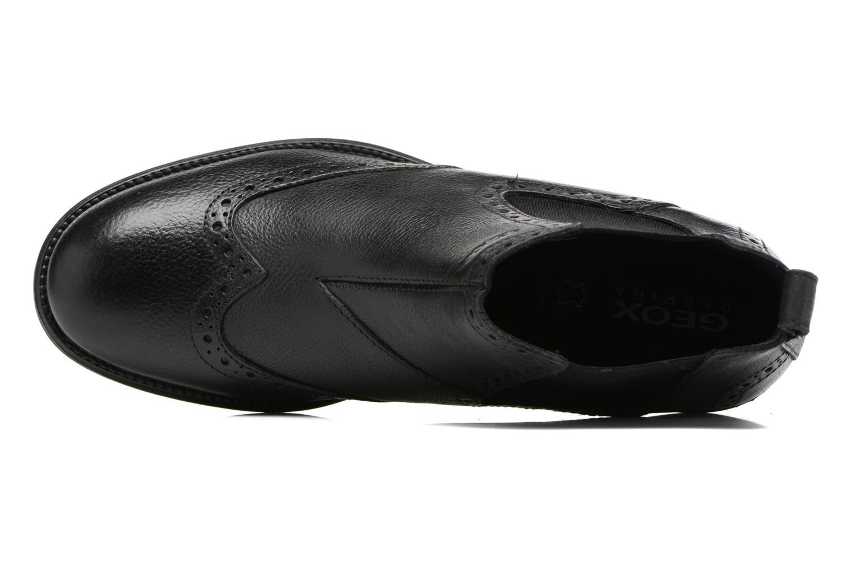 Bottines et boots Geox U Jaylon B U74Y7B Noir vue gauche