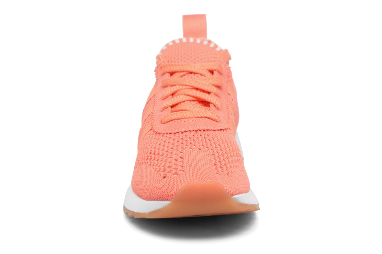 Baskets Adidas Originals Flb W Pk Orange vue portées chaussures