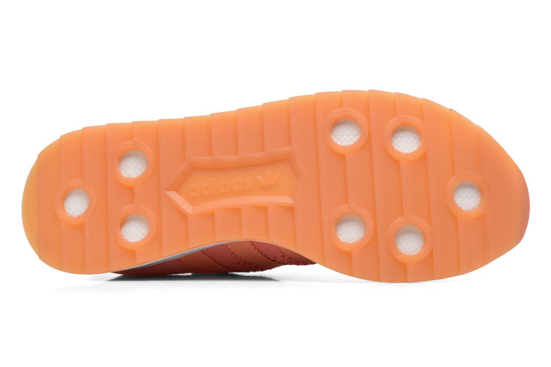 Baskets Adidas Originals Flb W Pk Orange vue haut