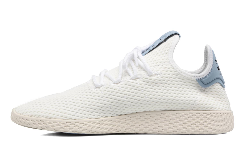 Baskets Adidas Originals Pharrell Williams Tennis Hu Blanc vue face