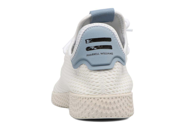 Sneaker Adidas Originals Pharrell Williams Tennis Hu weiß ansicht von rechts