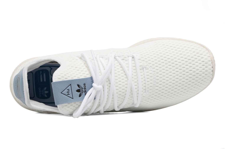 Baskets Adidas Originals Pharrell Williams Tennis Hu Blanc vue gauche