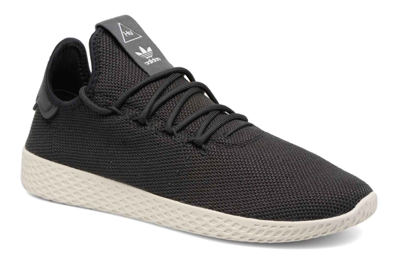 Baskets Adidas Originals Pharrell Williams Tennis Hu Gris vue détail/paire