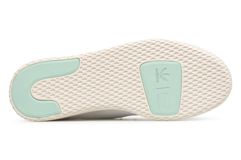 Sneaker Adidas Originals Pharrell Williams Tennis Hu weiß ansicht von oben