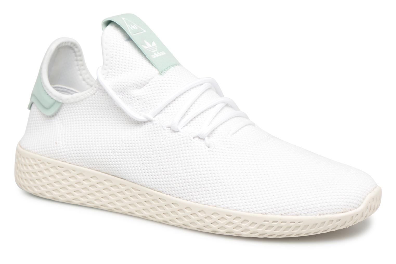 Adidas Originals Pharrell Williams Tennis Hu (Blanc) - Baskets chez Sarenza (323147)