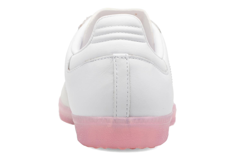 Baskets Adidas Originals Samba W Rose vue droite