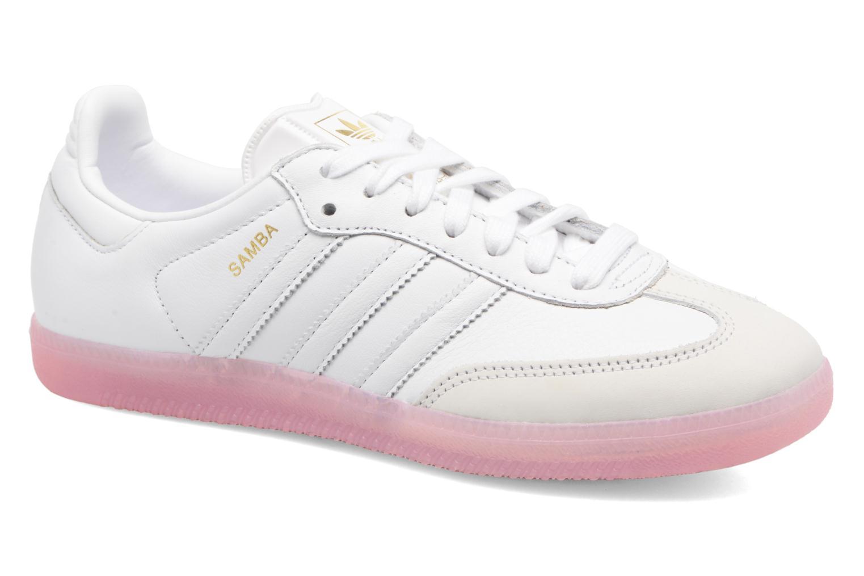 Baskets Adidas Originals Samba W Rose vue détail/paire