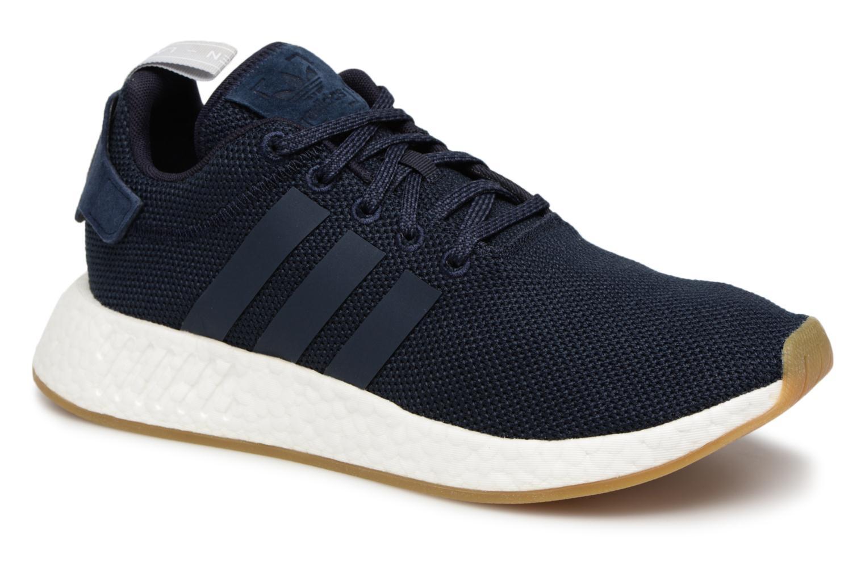 big sale b4aba f655f ... Adidas Originals Nmd R2 (Bleu) - Baskets chez Sarenza (339263)