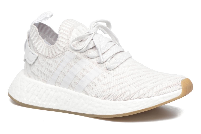 Baskets Adidas Originals Nmd_R2 Pk W Gris vue détail/paire