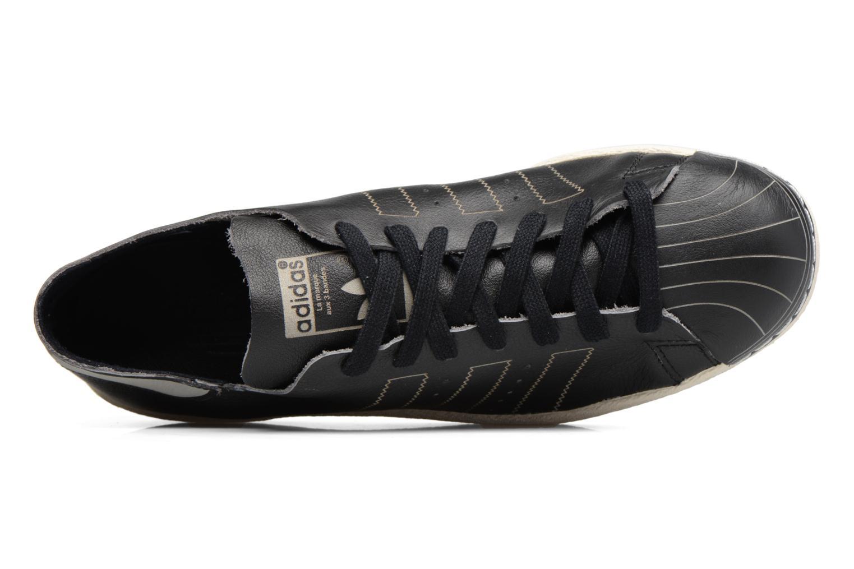 Baskets Adidas Originals Superstar 80S Decon Noir vue gauche