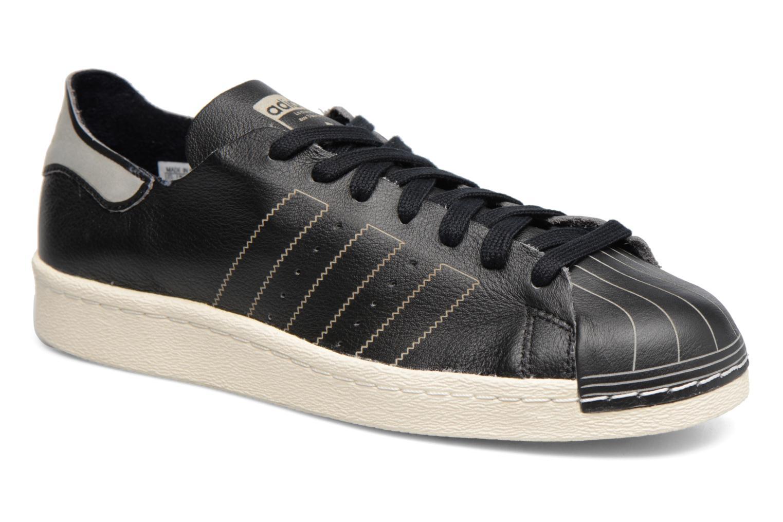 Baskets Adidas Originals Superstar 80S Decon Noir vue détail/paire