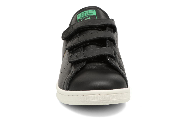 Baskets Adidas Originals Stan Smith Cf M Noir vue portées chaussures