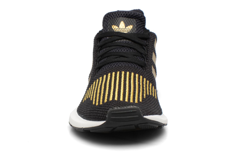 Trainers Adidas Originals Swift Run W Bronze and Gold model view
