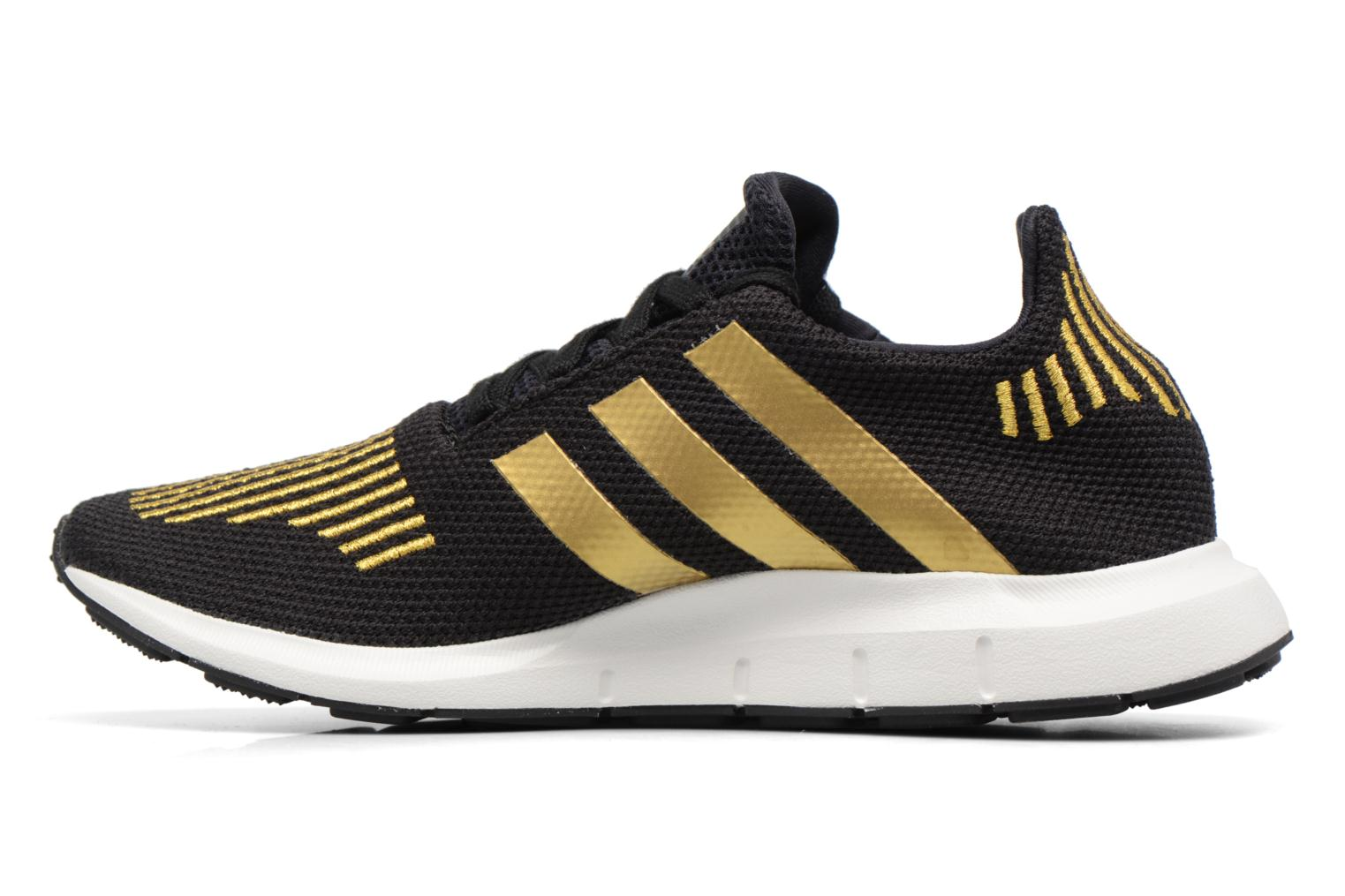 Trainers Adidas Originals Swift Run W Bronze and Gold front view