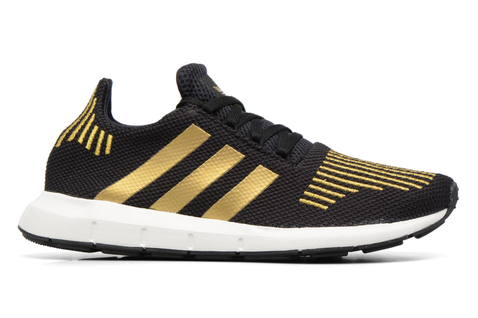Deportivas Adidas Originals Swift Run W Oro y bronce vistra trasera