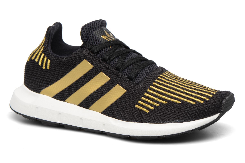 Baskets Adidas Originals Swift Run W Or et bronze vue détail/paire