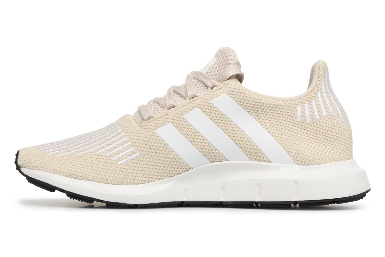 Baskets Adidas Originals Swift Run W Beige vue face