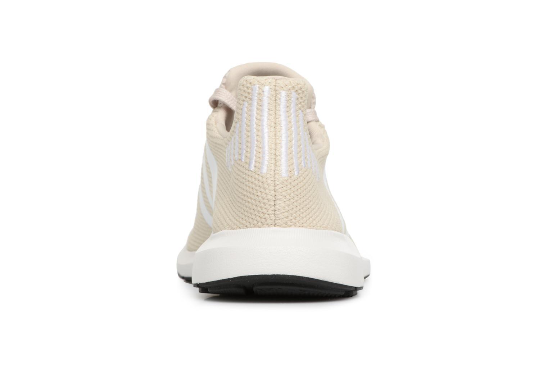 Baskets Adidas Originals Swift Run W Beige vue droite