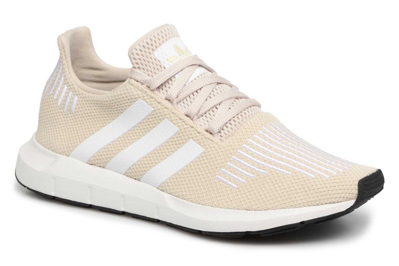 Baskets Adidas Originals Swift Run W Beige vue détail/paire