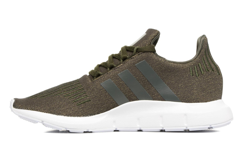 Sneakers Adidas Originals Swift Run W Groen voorkant