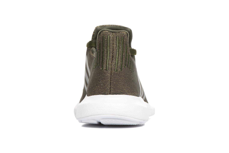 Baskets Adidas Originals Swift Run W Vert vue droite