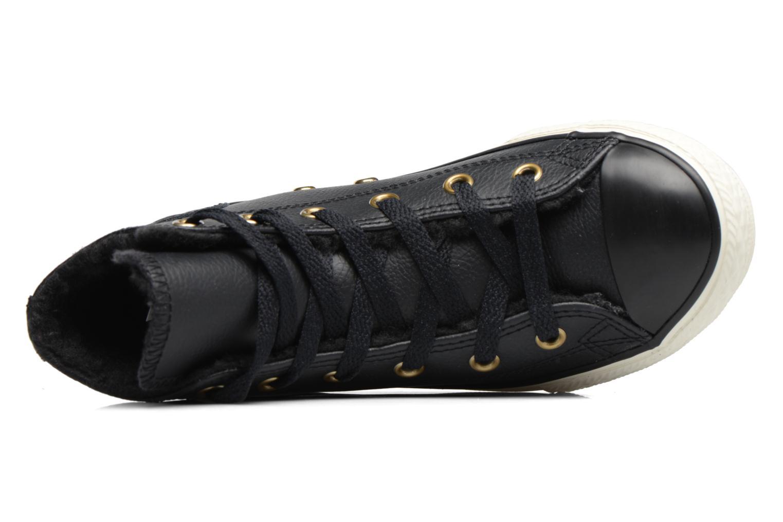 Chuck Taylor All Star Leather  Hi Black/Black/Egret