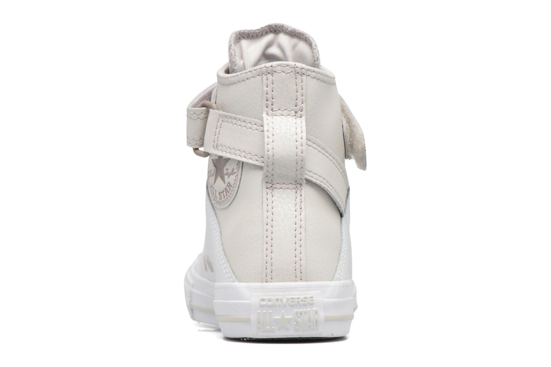 Sneaker Converse Chuck Taylor All Star Brea  Hi weiß ansicht von rechts