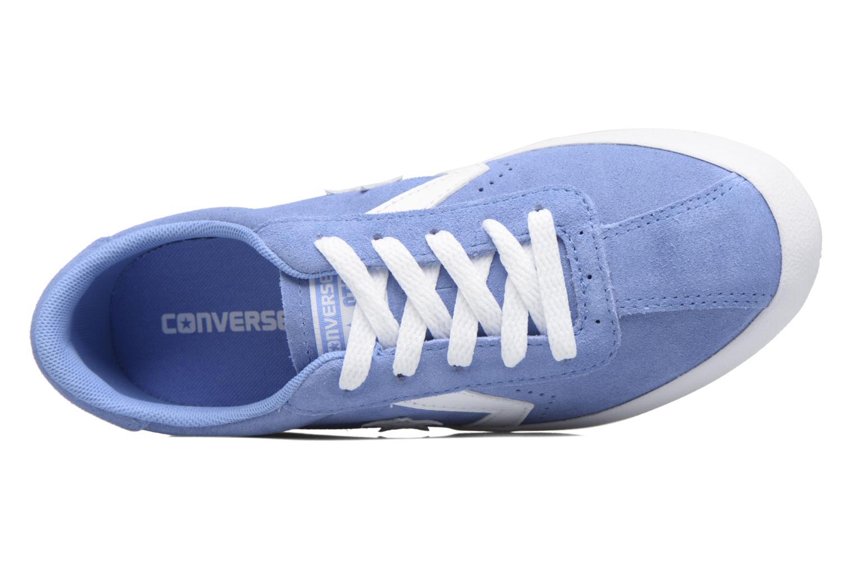 Baskets Converse Breakpoint Suede Ox Bleu vue gauche