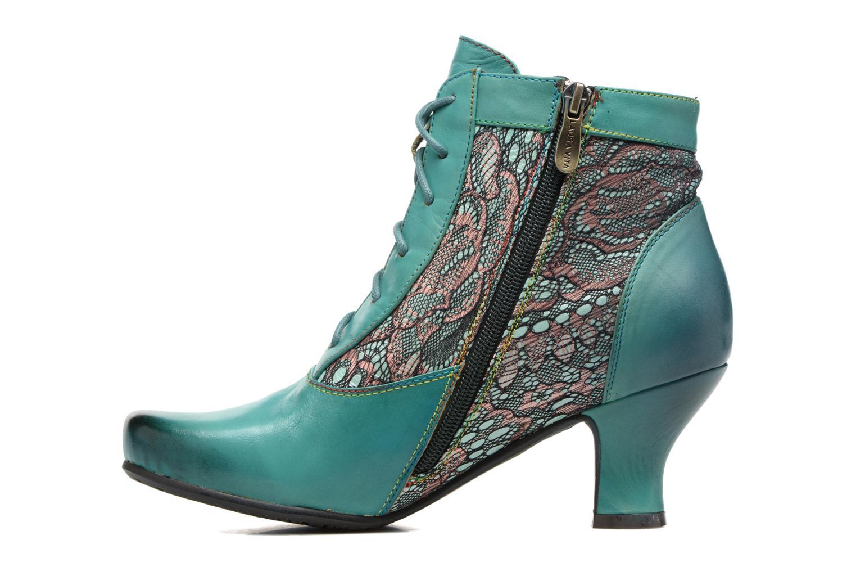Bottines et boots Laura Vita Candice 03 Vert vue face
