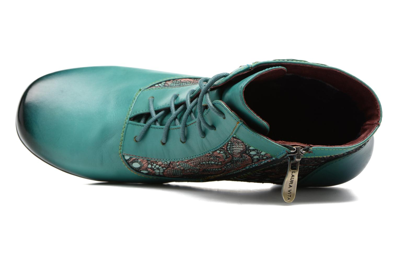 Bottines et boots Laura Vita Candice 03 Vert vue gauche
