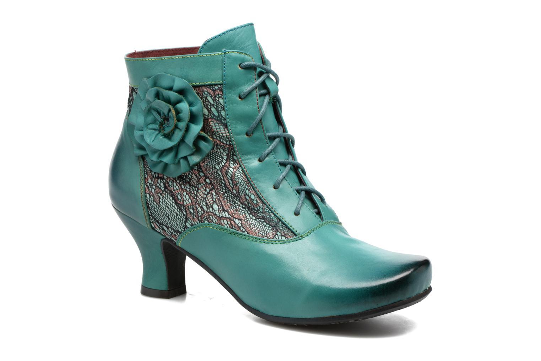 Bottines et boots Laura Vita Candice 03 Vert vue détail/paire